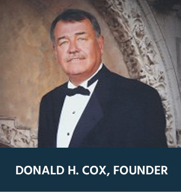 Our Founder - Donald Cox CRC Wellhead